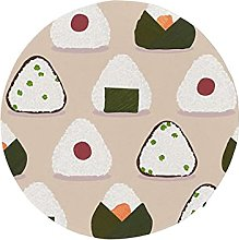 Round Outdoor Seat Cushions Cartoon Delicious Pack