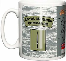Royal Navy Marines Commando Tasse en céramique