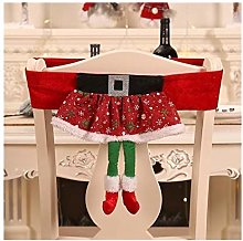 RSTJBH Housses de chaise de Noël - Non tissées -