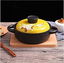 RSWLY Marmite À Soupe Binaurale En Céramique,