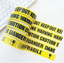 Ruban d'avertissement pour décoration