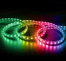 Ruban LED 220V AC 60 LED/m RGB IP65 sur Mesure