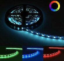 Ruban LED RGB 12V 5M 5050 IP20 60LED/m - Silamp