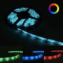 Ruban LED RGB 12V 5M 5050 IP44 30LED/m - Silamp