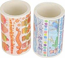 Ruban Washi, 10 boîtes Ruban adhésif de masquage