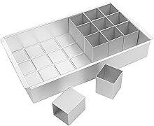 Ruby569y Emporte-pièce en alliage d'aluminium