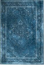Rugged - Tapis de salon iranien bleu