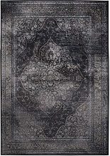 Rugged - Tapis de salon iranien gris