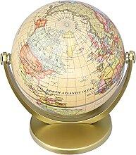 RUIRUIY Mini Globe de Carte du Monde édition