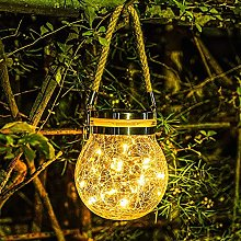 RUIXFFT Cour extérieure Lampe décoration, Verre
