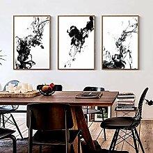 Rumlly Affiche Abstraite et Impressions de Style