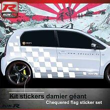 Run-r Stickers - Sticker bas de caisse 004B Rallye