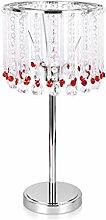 RUNWEI Abat-Jour en Cristal Lampe De Table