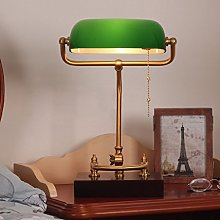 RUNWEI Lampe De Bureau Lampe De Table De Banquier