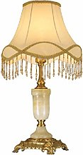 RUNWEI Lampe De Table Base en Métal De Cuivre