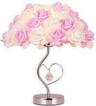 RUNWEI Lampe De Table De Fleur Mariage Mariage
