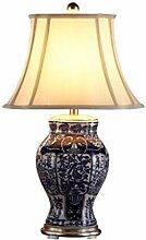 RUNWEI Lampe De Table Salon Chaude Lampe en