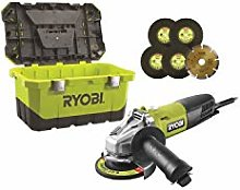 Ryobi RAG800-125TA6 Meuleuse Électrique à fil