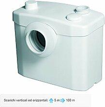 S.F.A. Italie 0900100002Broyeur WC et lavabo,