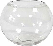 S VER3003-1 Vase épais en Boule en Verre