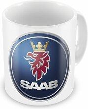 SAAB voiture fabricant Café/Thé Tasse