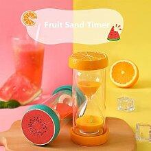 Sablier 5 Minutes, montre à fruits, horloge 15 30