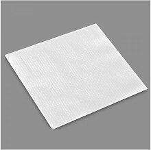 Sac 80 serviette de table 1 couche blanc 33x33cm