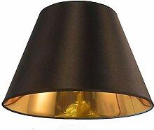 SAC d'épaule Lampe de Table Shade, Or Noir