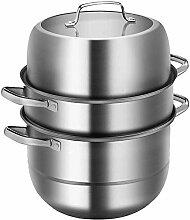 Sac de pique-nique 3 Tier Food Steamer Pan/Marmite