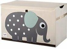 Sac et bac à jouets - Caisse de rangement Elephant