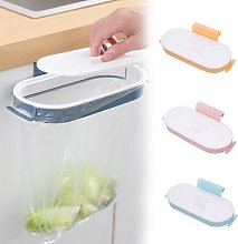 Sac poubelle de cuisine en plastique, support de