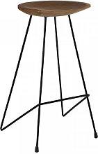 SAFARI - Tabouret de bar minimaliste en bois et