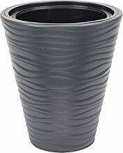 Sahara cache-pot 35 cm en plastique, couleur