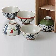 Saikai poterie Bol à Riz,thé Japonais mis en