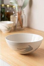 Saladier Porcelaine Ø22 cm Boira Gris Sklum
