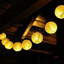 SALCAR Guirlande Lumineuse Lampion Lumineux 20M 80