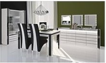 Salle à manger lina buffet + vitrine + table