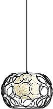 Salle à Manger Lumière Pendante Métal Cage