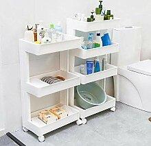 Salle de bains étagère rack multi-couche Type de
