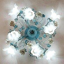 Salon Créatif Bleu Chambre À Coucher Salle À