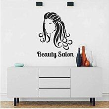 Salon De Beauté Texte Beaux Longs Cheveux