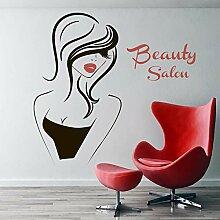 Salon de beauté vinyle stickers muraux