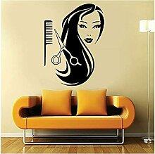 Salon De Coiffure Stickers Muraux Décoration