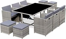 Salon de jardin 6-10 places - Vasto - table
