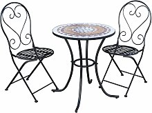 Salon de Jardin Bistrot Table 2 Chaises pour