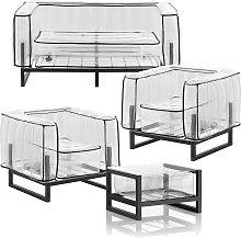 Salon de jardin design et table basse Passepoil