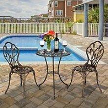 Salon de jardin Ensemble de table et chaises de