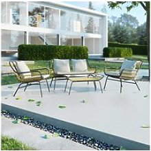 Salon de jardin - firber - canapé 2 places - 2