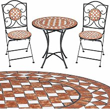Salon de jardin mosaique Gernika Ensemble table
