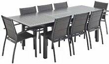 Salon de Jardin Table Extensible - Chicago